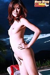 Standing Nude Hand On Hip Small Breasts