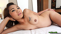 Lying On Bed Nude